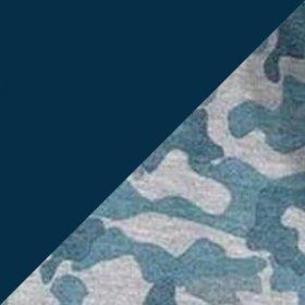 Mescla Azul Marinho/Camuflado Azul Marinho